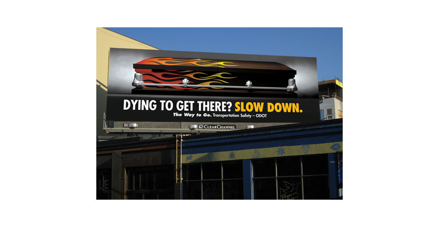 slow down _ traffic safety